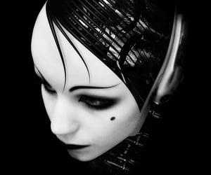 cyberpunk, cyborg, and machine image