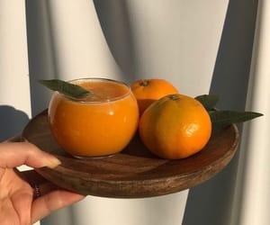 orange, aesthetic, and fruit image