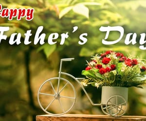 flower, happy fathers day, and event florist image