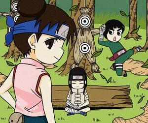 naruto, rock lee, and neji hyuga image