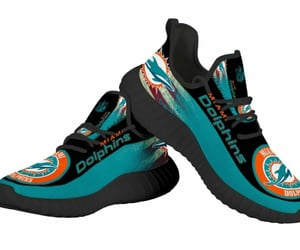 etsy, miami dolphins, and fashion sneakers image