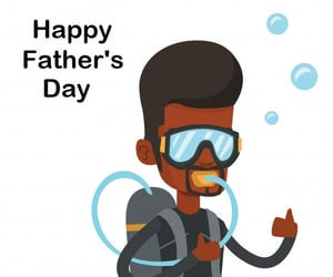 Fathers Day, happy fathers day, and ocean dive image