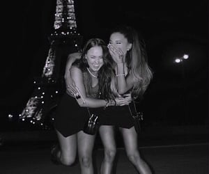 ariana grande, paris, and friends image