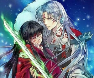 anime, inuyasha, and inu yasha image