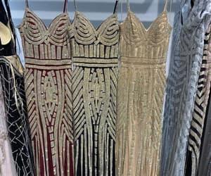women fashion, robe de soirée, and sparkly evening dresses image