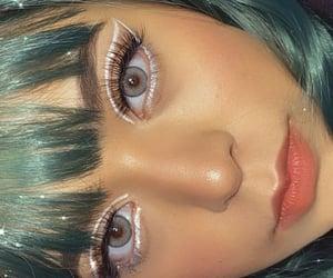 eyeliner, fashion, and makeup image