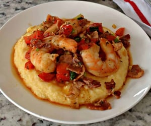 shrimp, grits, and southern food image