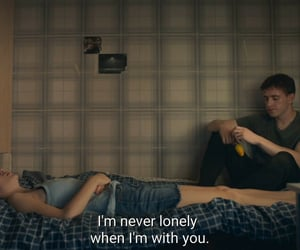 alone, bedroom, and emotions image