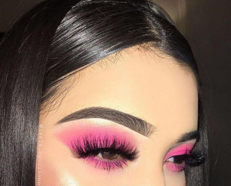 makeup, eyebrows, and lashes image