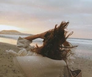 beach, fashion, and freedom image