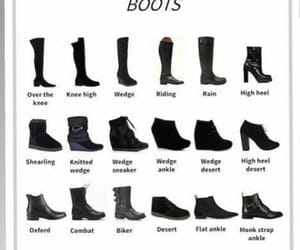 boots, dictionary, and fashion image