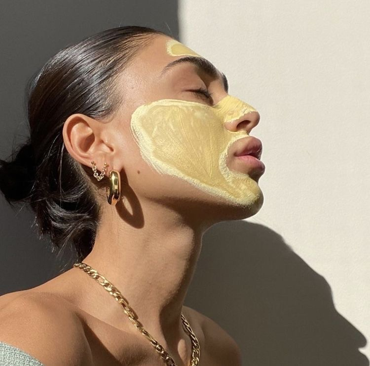 aesthetic, selflove, and skincare image