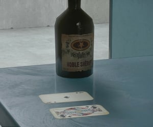 blue, cards, and playing cards image