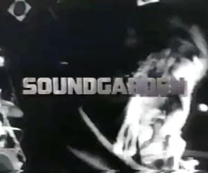 gif, soundgarden, and 90's music image