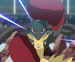 anime, mega evolution, and pokemon image