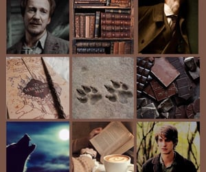 Collage, remus lupin, and lupin image