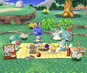 animal crossing, lily, and rosie image