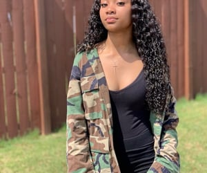 black women, makeup, and natural image