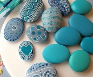 blue, creative, and diy image