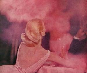 pink, vintage, and smoke image