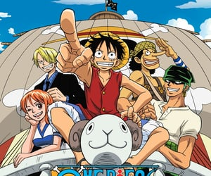 anime, merry, and one piece image