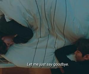 couple, goodbye, and korean image