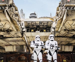 disney world, star wars, and stormtroopers image