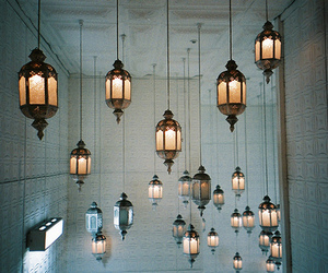 light, lantern, and lamps image