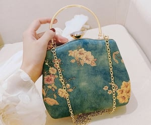 bag, girls, and style image