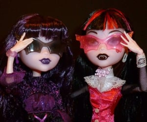 draculaura, monster high, and aesthetic image
