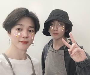 jin, seokjin, and taehyung image