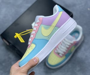 air force 1, custom shoes, and easter image