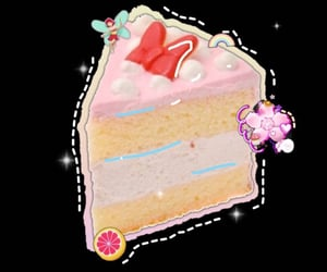 cake, overlay, and pngs image