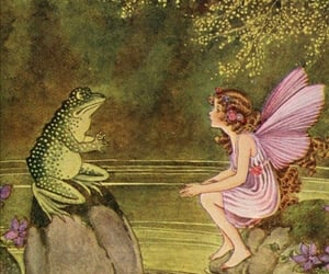 art, faerie, and faeries image