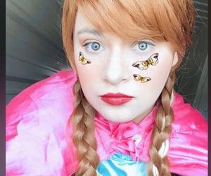 beautiful, blue eyes, and disney image