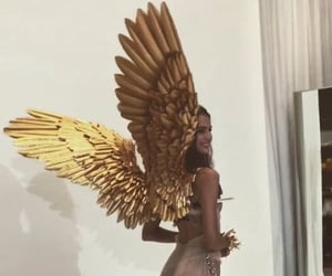wings, angel, and model image