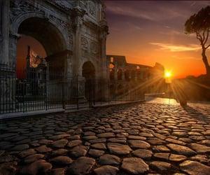 art, rome, and sun image