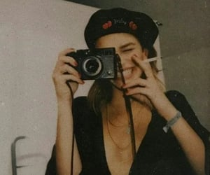 vintage, girl, and aesthetic image