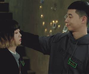 couple, itaewon class, and kim dami image