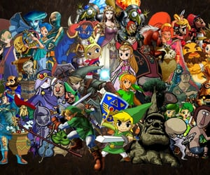 The legend of zelda (tloz) characters wallpaper