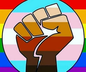 empowerment, pride, and blm image