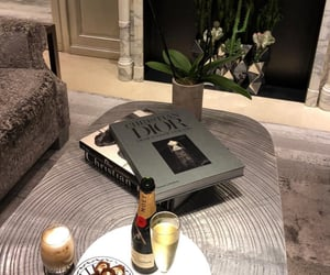 aesthetic, champagne, and Christian Dior image