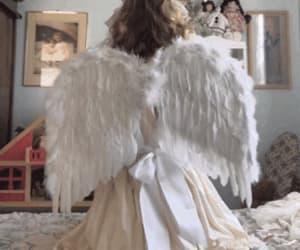 aesthetic, angel, and gif image