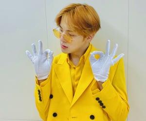 kpop, yellow, and minhyuk image