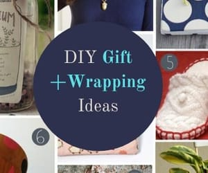 diy gift bag, diy gift wrapping ideas, and easy gift wrapping ideas image