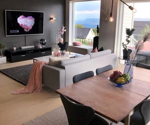 design, tv room, and home image