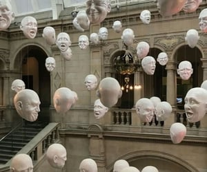 aesthetic, face, and museum image