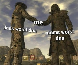 DNA, ugly, and relatable image