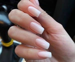 minimal, nails, and nudes image