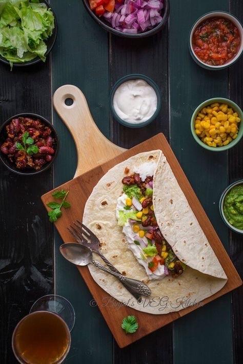 burrito, dish, and food image